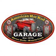 Adesivo American Hot Rod Garage - Unidade