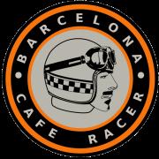 Adesivo Barcelona Cafe Racer - Unidade
