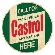 Adesivo Castrol Motor Oil - Unidade