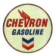 Adesivo Chevron Gasoline - Unidade