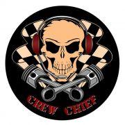 Adesivo Crew Chief - Unidade