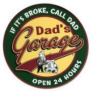 Adesivo Dads Garage - Unidade