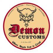 Adesivo Demon Customs - Unidade