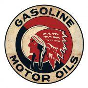 Adesivo Gasoline Motor Oils - Unidade