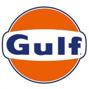 Adesivo Gulf Gasoline - Unidade