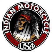 Adesivo Indian Motorcycle  - Unidade