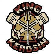 Adesivo King Kerosin Tridente - Unidade