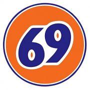 Adesivo Logo 69 - Unidade