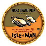 Adesivo Manx Grand Prix - Unidade