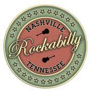 Adesivo Nashville Rockabilly - Unidade