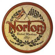 Adesivo Norton Motorcycles - Unidade