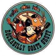 Adesivo Rockabilly Goats - Unidade