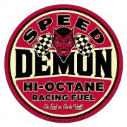 Adesivo Speed Demon Hi-Octane - Unidade