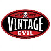 Adesivo Speed Parts Vintage Evil - Unidade