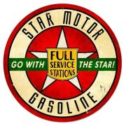 Adesivo Star Motor Gasoline - Unidade