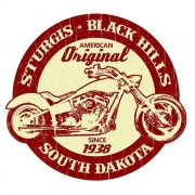 Adesivo Sturgis Black Hills - Unidade