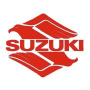 Adesivo Suzuki  Vermelho em Plotter - Unidade