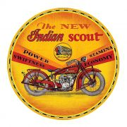 Adesivo The New Indian Scout - Unidade