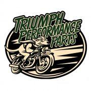 Adesivo Triumph Performance Parts - Unidade