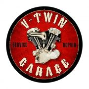 Adesivo V-Twin Garage - Unidade