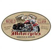Adesivo World Class Motorcycles - Unidade