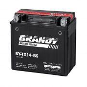 Bateria BY-TX14-BS - Vrod, VT1100  Shadow, Vulcan 800, VTX 1300 e Valkyrie