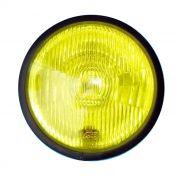 Bloco Óptico Farol Harley Sportster e Dyna - Amarelo
