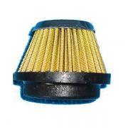 Filtro de Ar Cone Com Abraçadeira Conexão 37 mm
