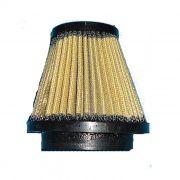 Filtro de Ar Cone Lavável Conexão 55 mm - Amarelo