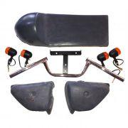 Kit Carenagens Café Racer para Motos de 125 a 200 cc