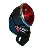 Lanterna Traseira Para Customizações Com Suporte de Placa