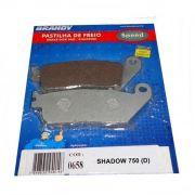 Pastilha de Freio Shadow 750 06-10 (D) Sem ABS