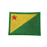 Patch Bordado Bandeira Acre - 5 x 7 Cm