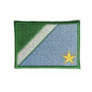 Patch Bordado Bandeira Mato Grosso do Sul - 5 x 7 Cm