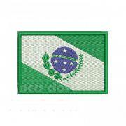 Patch Bordado Bandeira Paraná - 5 x 7 Cm