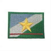 Patch Bordado Bandeira Roraima - 5 x 7 Cm