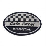 Patch Bordado Cafe Racer  - 6 X 10 CM