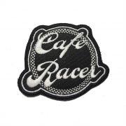Patch Bordado Cafe Racer - 7 x 8 Cm