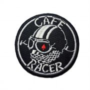 Patch Bordado Cafe Racer - 8 X 8 Cm