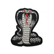 Patch Bordado Cobra Naja - 10 x 7,5 Cm