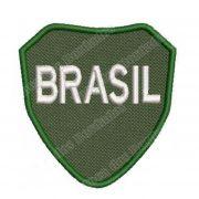 Patch Bordado FEB Brasão 2ª Guerra  - 8 x 7,5 Cm