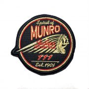 Patch Bordado Indian Munro - 7,5 X 8 Cm