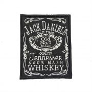 Patch Bordado Jack Daniel´s  - 10 x 8 Cm