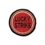 Patch Bordado Lucky Strike - 6 x 6 Cm