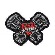 Patch Bordado Ride Forever - 7,5 x 10 Cm