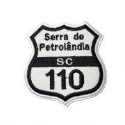 Patch Bordado Serra da Petrolândia - 7,5 x 7 Cm