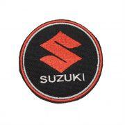 Patch Bordado Suzuki - 8 x 8 Cm
