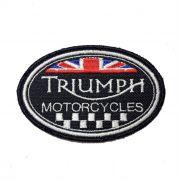 Patch Bordado Triumph - 6 X 9 CM