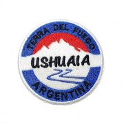 Patch Bordado Ushuaia - 8 x 8 Cm
