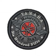 Patch Bordado Yamaha Drag Star Motorcycles - 10 X 10 Cm